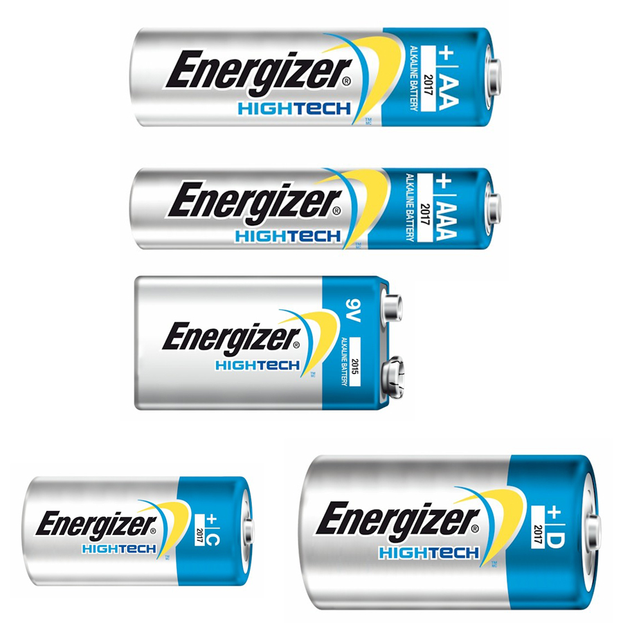 Batterier, High Tech - Energizer