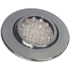 Downlight, LED, justerbar, krom